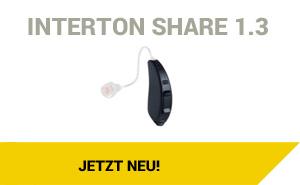 Interton Share 1.3 Nulltarif* Hörgerät Artikelbild
