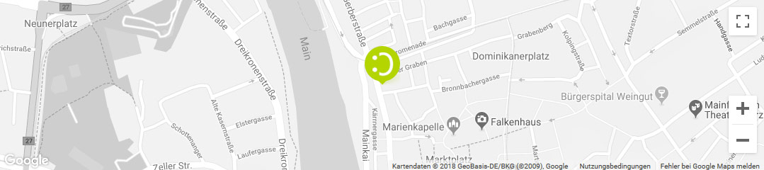 OHRpheus lite Nulltarif* Hörgeräte Würzburg Stadtplanbild