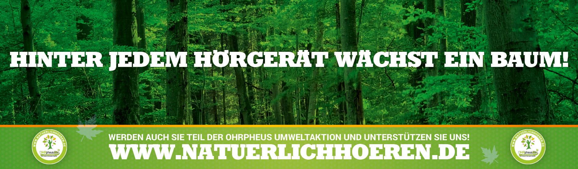 OHRpheus lite Umweltaktion Wald dunkelgrün