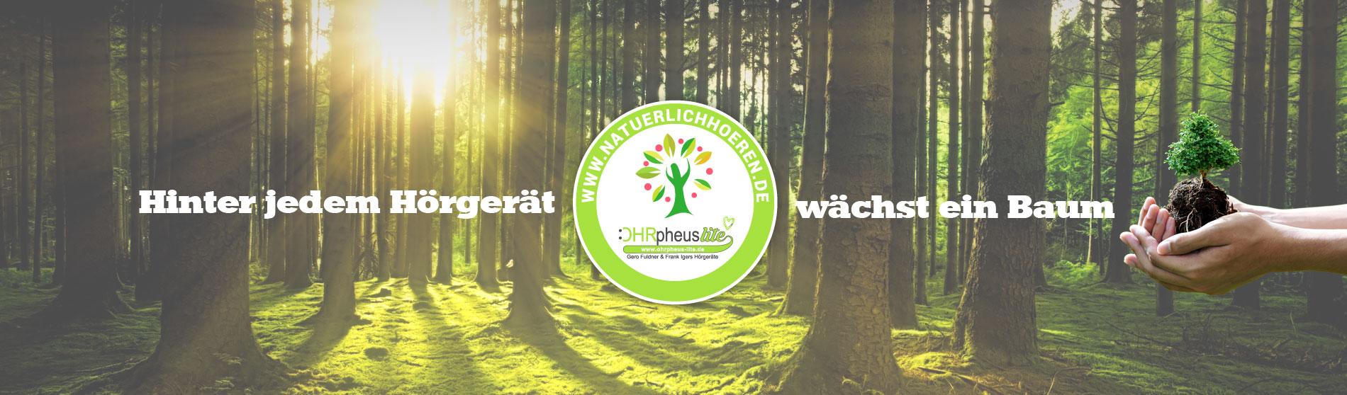 OHRpheus lite Umweltaktion Slider