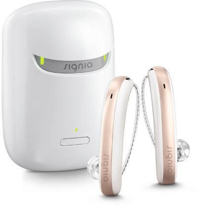 Signia Styletto X Hörgerät inklusive Lade-Etui Artikelbild